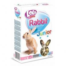 LOLO JUNIOR kompl. krmivo pro králíky 8-12 měs.400g krabička
