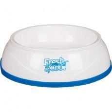 Cool Fresh chladící miska plastová, bílo/modrá 1 l/20 cm - DOPRODEJ