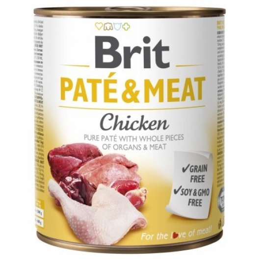 Brit konzerva Paté & Meat Chicken 800 g