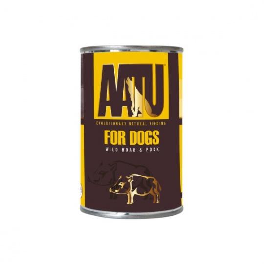 AATU Dog Wild Boar n Pork konzerva 400 g