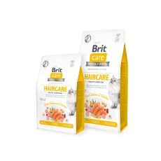Brit Care Cat Grain-Free HAIRCARE HEALTHY AND SHINY COAT 7 kg