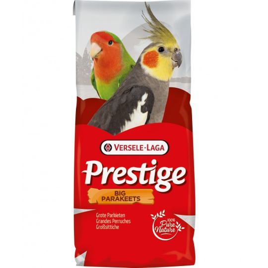 Versele Laga Prestige Big Parakeets Standard 20 kg + 2 kg ZDARMA