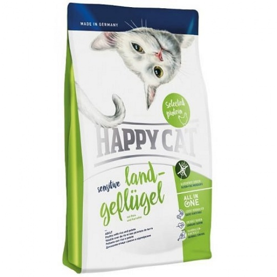 Happy Cat Sensitive Land Geflügel / Hydina 300 g