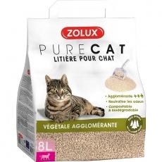 Podstielka PURECAT natural rastlinná 30l Zolux
