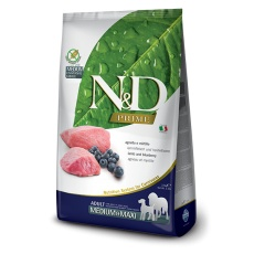 N&D Dog Prime Adult Medium & Maxi Lamb & Blueberry 12 kg