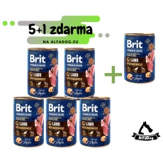 Brit Premium Dog by Nature konz Lamb & Buckwheat 800g