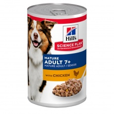 Hill's SCIENCE PLAN Mature Adult 7+ Dog Food with Chicken  370g