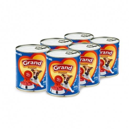 Grand Premium Meat Mix 4 x 1 300 g