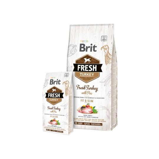 Brit Fresh Dog Turkey & Pea Light Fit & Slim 2,5kg