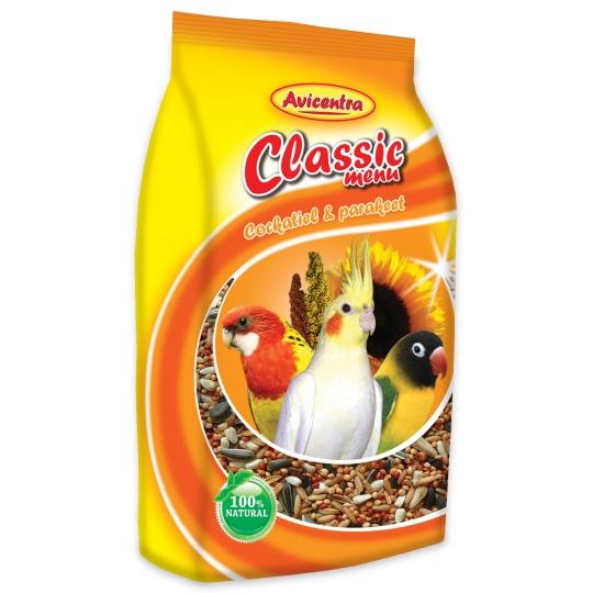 Avicentra Classic menu malý papagáj 20 kg