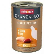 GRANCARNO Single Protein 400 g čisté kuřecí, konzerva pro psy