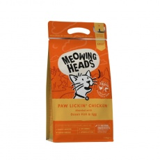 MEOWING HEADS Paw Lickin' Chicken 400 g