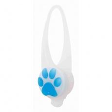 Flasher blikačka pro psy 2,4 cm / 8 cm bílá/barevná tlapka (RP 2,10 Kč)