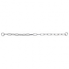 Řetězový obojek, dlouhá oka, 78cm/ 4.0mm