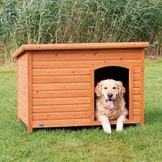 Bouda pro psa, dřevěná, rovná střecha, L 116x82x79 cm TRIXIE