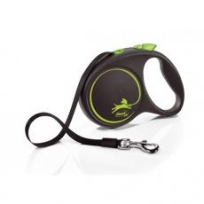 Flexi Design M páska 5 m  (do 25 kg) zelené
