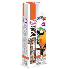LOLO SMAKERS XXL 2 klasy orechovo-ovocné pre veľké papagáje 250g