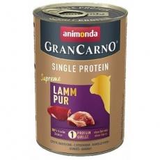 GRANCARNO Single Protein 400 g čisté jehněčí, konzerva pro psy