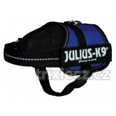Julius-K9 silový postroj Mini-Mini/S 40-53 cm,, modrý