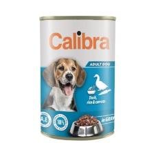 Calibra Dog konz.Duck,rice&carrots in gravy 1240g NEW
