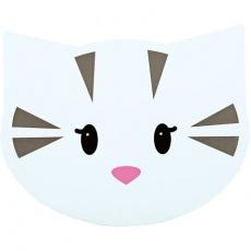 Prostírání MIMI 35x28 cm hlava kočka - DOPRODEJ