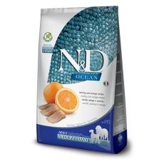 N&D Dog Ocean Adult Medium & Maxi Herring & Orange 12kg