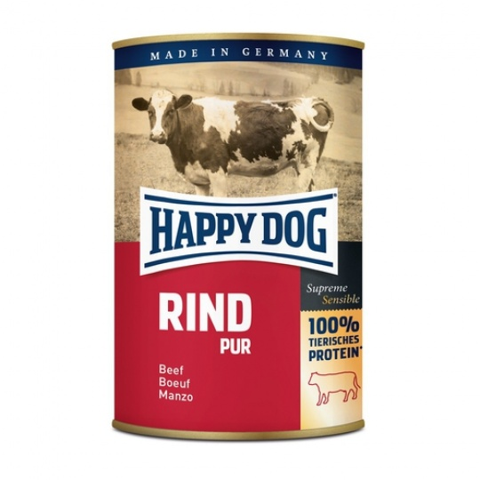 Happy Dog Konzerva Rind Pur Hovädzie mäso 800 g