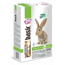LOLO BASIC kompletní krmivo pro králíky 1000 g krabička