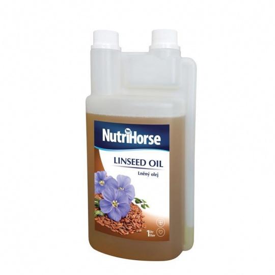 Nutri Horse Ľanový olej 1L