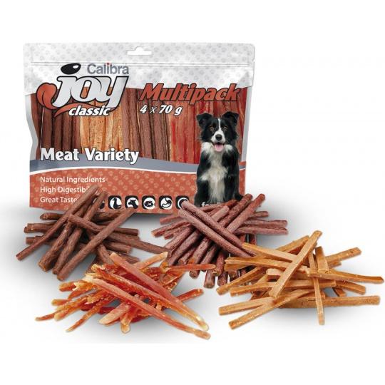 Calibra Joy Dog Multipack Meat Variety Mix 4 x 70g