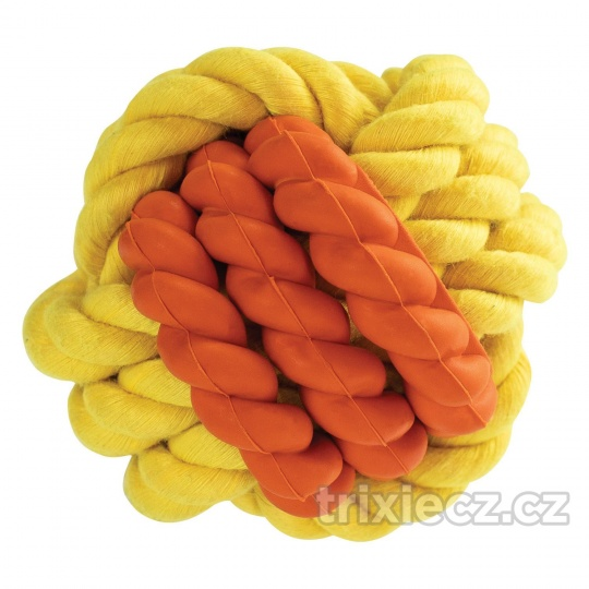 HipHop  Kombinovaná Monty lopta prírodná guma a bavlna 6 cm