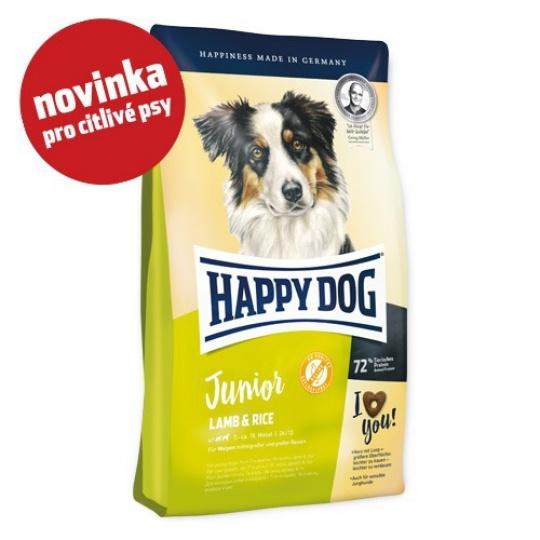 Happy Dog Junior Lamb & Rice  10kg + DOPRAVA ZDARMA