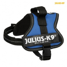 Julius-K9 silový postroj Mini-Mini/S 40-53 cm,  - modrá