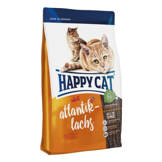 Happy Cat Adult Atlantik-Lachs 10 kg  + DOPRAVA ZADARMO