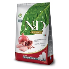 N&D Prime DOG Puppy Medium & Maxi Chicken & Pomegranate 12  kg