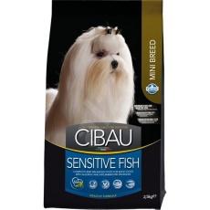 CIBAU Adult Sensitive Fish & Rice Mini  2,5 lg