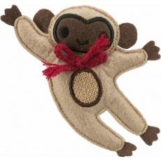 MONKEY - opice, hračka pro kočky s katnipem, 12 cm, plsť