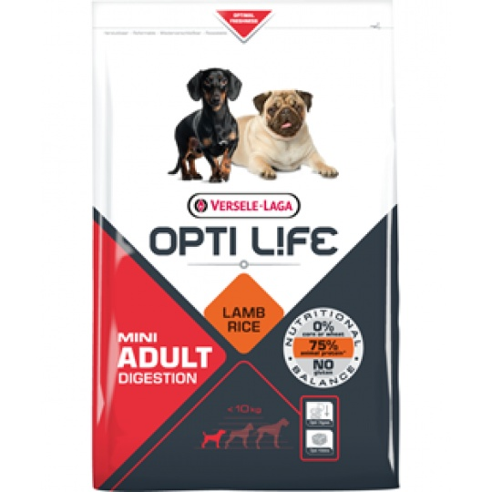 Versele Laga Opti Life Dog ADULT Digestion Mini 2,5 kg