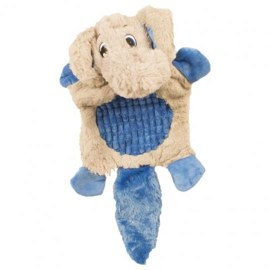 Hračka DUVO+ Plyšový slon, pískajúci 43x25x10cm