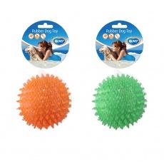 Hračka DUVO+ Lopta ježko gumená 8 cm