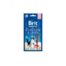 Brit Premium Cat by Nature Sticks Chicken&Liver(3pcs)