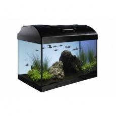 Akvarijní set 40 - černý rovný 40x25x25 cm (RP 2,90 Kč)