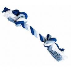 Uzel HipHop bavlněný 2  knoty 30 cm / 140 g tm.modrá, sv.modrá, bílá