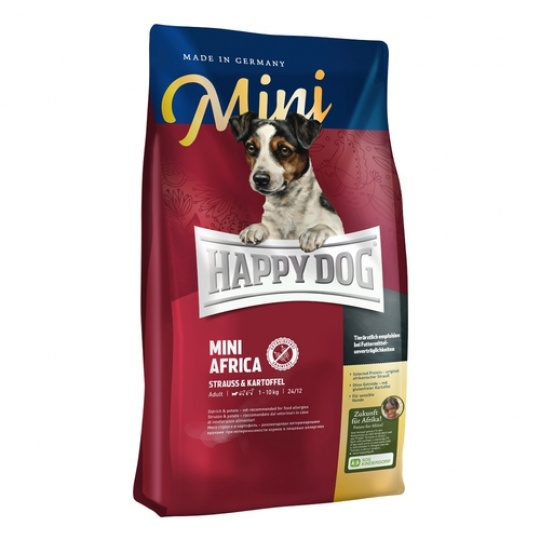 Happy Dog Supreme Mini AFRICA Pštros & Zemiaky 300 g
