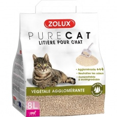 Podstielka PURECAT natural rastlinná 8l Zolux
