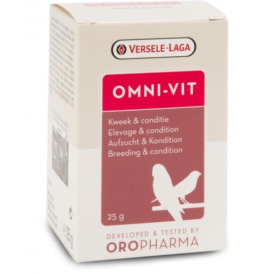 Versele Laga OROPHARMA Omni Vit- prášok pre kondíciu na výstavy, súťaže a pred vábením 25 g