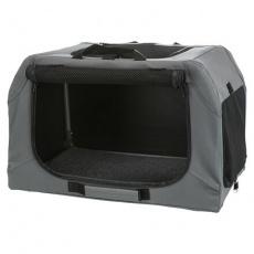 Skládací cestovní box EASY, XS-S: 50 x 33 x 36cm, šedý