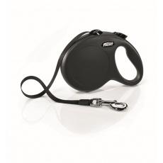 Flexi Classic NEW páska L  (do 50 kg)  5 m čierna