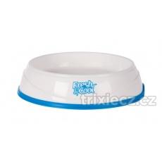 TRIXIE Cool Fresh chladiaca miska plastová, bielo/modrá 1 L  20 cm