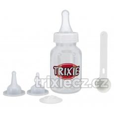 TRIXIE Kojenecký set, fľaška 120 ml, 3 dudlíky, odmerka